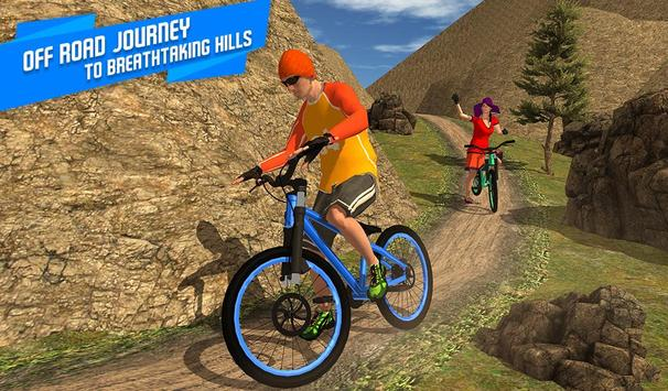 BMX Offroad Bicycle rider Superhero stunts racing screenshot 14