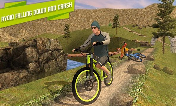 BMX Offroad Bicycle rider Superhero stunts racing screenshot 2
