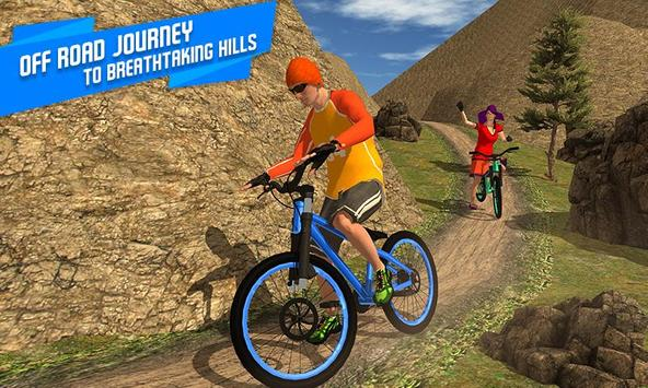 BMX Offroad Bicycle rider Superhero stunts racing screenshot 4