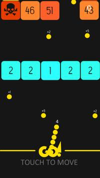 Super Snake balls vs Blocks screenshot 2