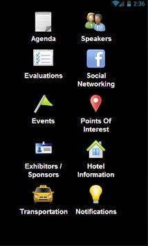 EVAWI Conference App poster