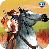Western Cowboy Revenge - Gun Fighter Gang Shooting icon