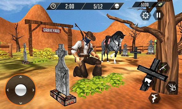 Western Cowboy Revenge - Gun Fighter Gang Shooting poster