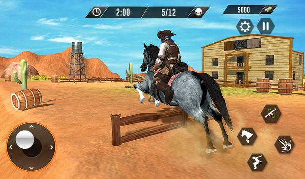 Western Cowboy Revenge - Gun Fighter Gang Shooting screenshot 10