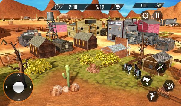 Western Cowboy Revenge - Gun Fighter Gang Shooting screenshot 11