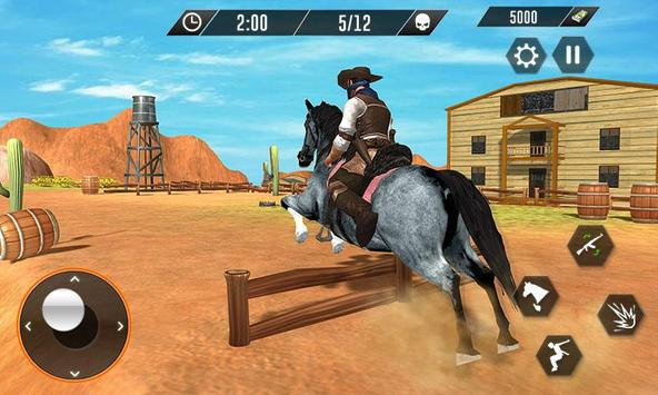Western Cowboy Revenge - Gun Fighter Gang Shooting screenshot 2