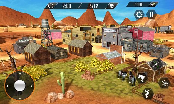 Western Cowboy Revenge - Gun Fighter Gang Shooting screenshot 3