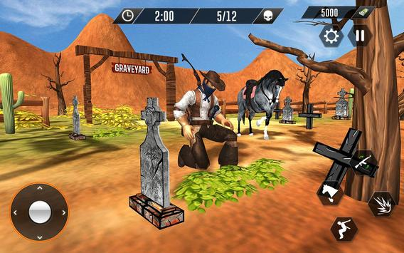 Western Cowboy Revenge - Gun Fighter Gang Shooting screenshot 4