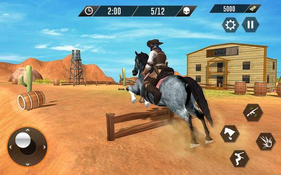 Western Cowboy Revenge - Gun Fighter Gang Shooting screenshot 6
