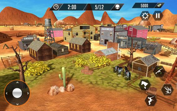 Western Cowboy Revenge - Gun Fighter Gang Shooting screenshot 7