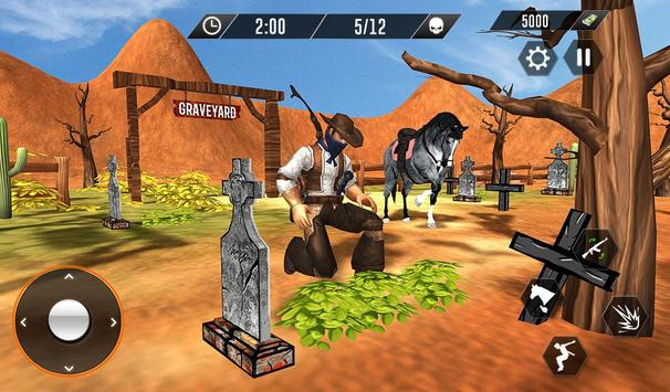 Western Cowboy Revenge - Gun Fighter Gang Shooting screenshot 8