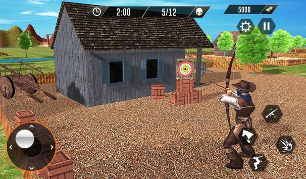 Western Cowboy Revenge - Gun Fighter Gang Shooting screenshot 9