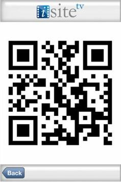 iSiteTV QR Code Reader screenshot 1