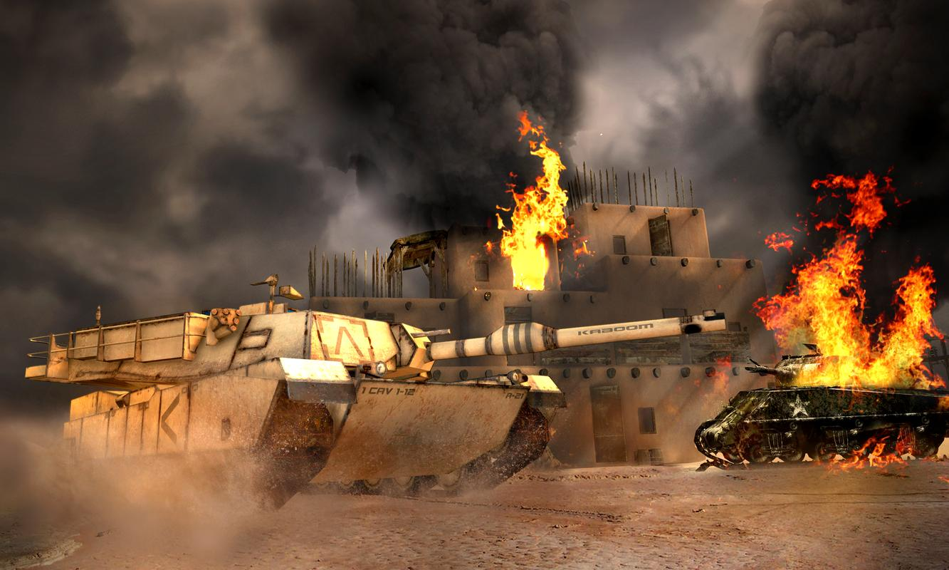 Tank Attack - A free Action Game - Games at Miniclip.com