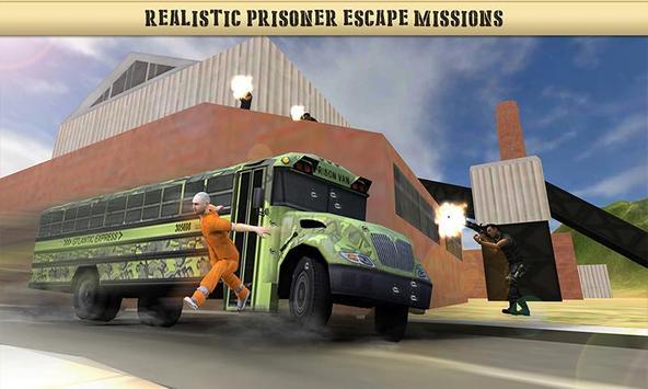 US Army Prisoner Transport Plane - Transport Games screenshot 1