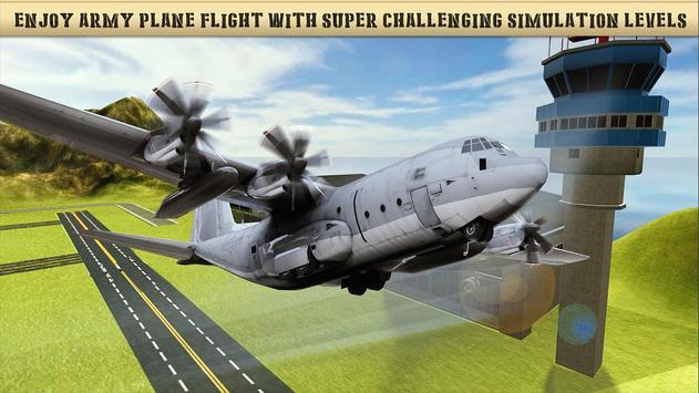 US Army Prisoner Transport Plane - Transport Games screenshot 2