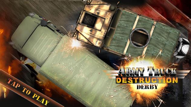 Army Truck Demolition Derby 3D poster