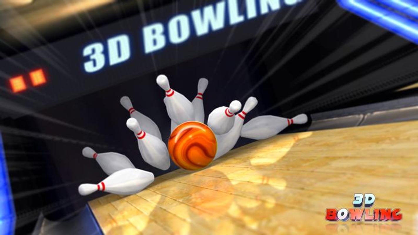 3D Bowling - android spor oyunları