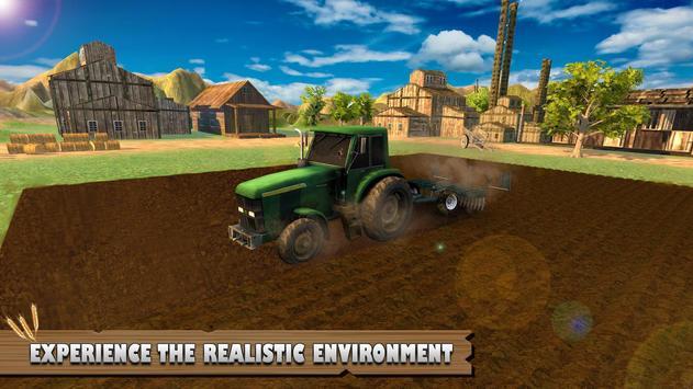 Tractor Driver Farm Simulator 2018 Transport Game apk screenshot