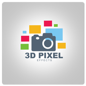 3D Pixel Effect icon