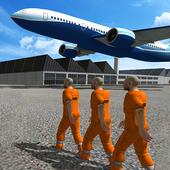 Police Airplane Prison Flight icon