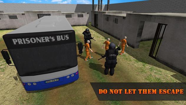 Police Airplane Prison Flight apk screenshot