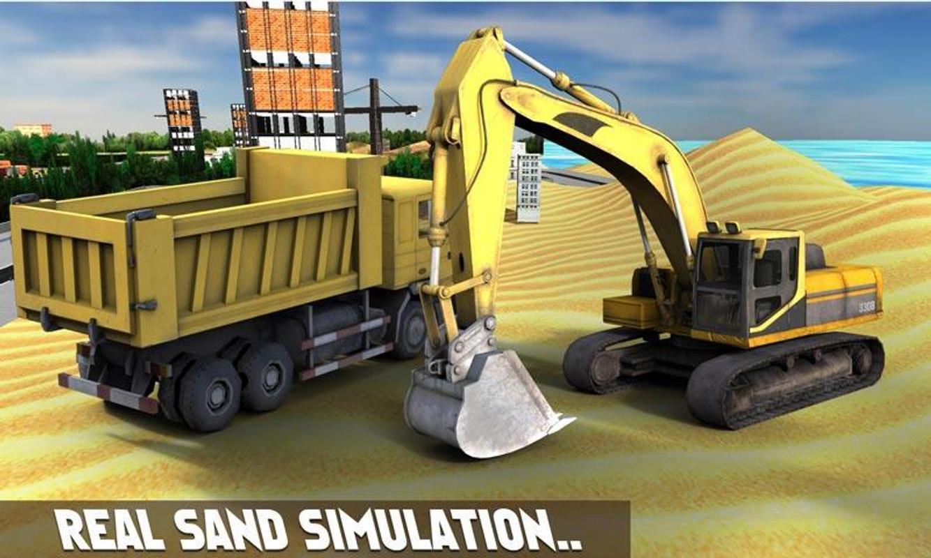 Areia escavadeira simulador 3d apk baixar gr tis for Simulador de casas 3d gratis