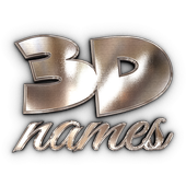 3D Names icon