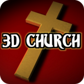 3D Church icon
