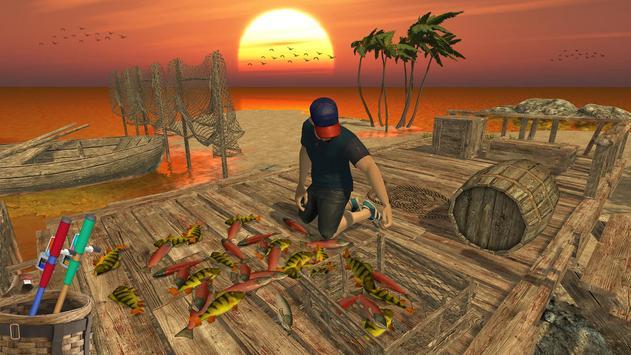 Ocean Fishing hunt Simulator 2018 captura de pantalla 3