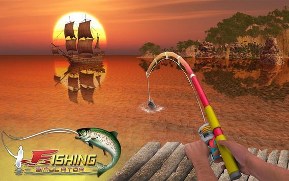 Ocean Fishing hunt Simulator 2018 captura de pantalla 10
