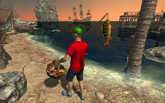 Ocean Fishing hunt Simulator 2018 captura de pantalla 13