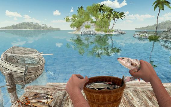 Ocean Fishing hunt Simulator 2018 captura de pantalla 17