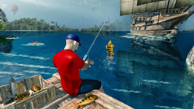 Ocean Fishing hunt Simulator 2018 captura de pantalla 2