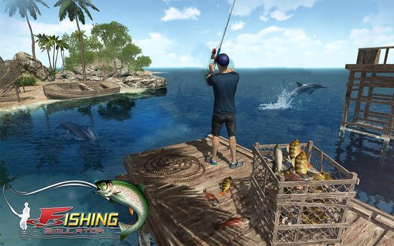 Ocean Fishing hunt Simulator 2018 captura de pantalla 6