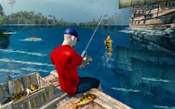 Ocean Fishing hunt Simulator 2018 captura de pantalla 8