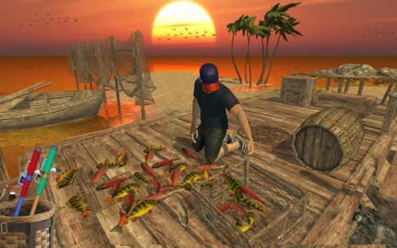 Ocean Fishing hunt Simulator 2018 captura de pantalla 9