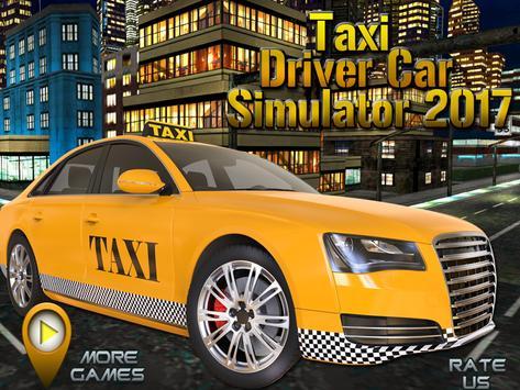 Taxi Driver Car Simulator 2017 poster