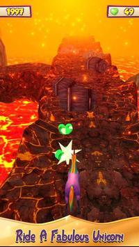 Unicorn Volcano Escape screenshot 4
