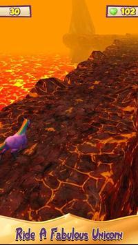 Unicorn Volcano Escape screenshot 5
