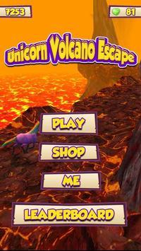 Unicorn Volcano Escape poster