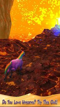 Unicorn Volcano Escape screenshot 15