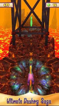 Unicorn Volcano Escape screenshot 1