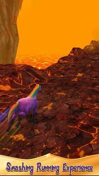 Unicorn Volcano Escape screenshot 2
