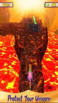 Unicorn Volcano Escape screenshot 3