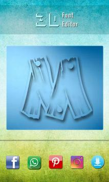 3D Font Editor poster