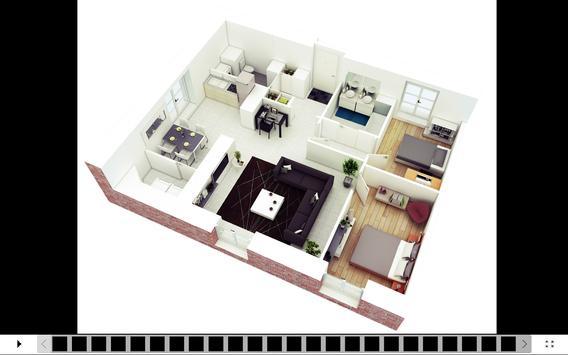 3d house design apk screenshot - 3d House Design App