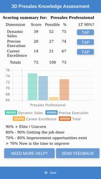 3D Presales Assessment screenshot 2