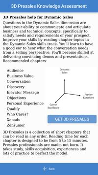 3D Presales Assessment screenshot 3
