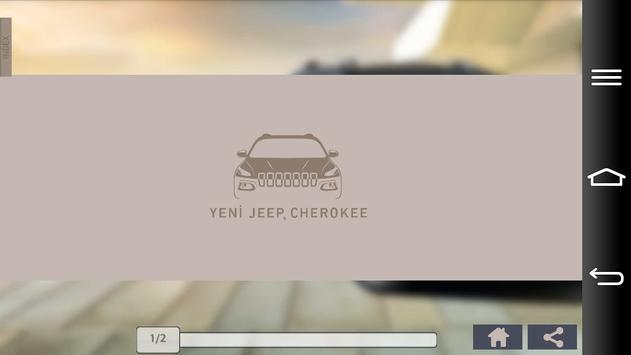 Jeep Cherokee Katalog poster